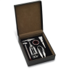 5 wine tools in PU box