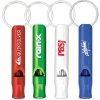 Aluminium Metal Whistle Key Chain