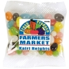 Assorted Colour Jelly Beans In 60 Gram Cello Bag