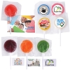 Assorted Colour Mega Lollipops