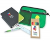 Back To School Kit - Malibu Pouch, Argos Notebook, Virgo Pen, Ruler, Pencils