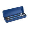 Ball pen set in metal box