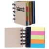 Cardboard Spiral Notebook with Noteflags