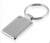Chrome Plated Stainless Steel Keyring
