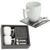 Coffee Set with Coaster and Spoon