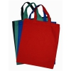 Coloured Short Handle Calico Bags