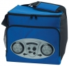 Cooler Bag with Radio - Silver Speakers