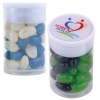 Corporate Colour Mini Jelly Beans In Dinky Tube