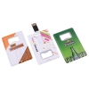 Credit Card Flash Drive with Bottle Opener