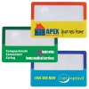 Custom Colour Clear Credit Card Size Magnifier