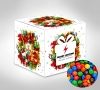 Custom Printed Mini Cube with Confectionery