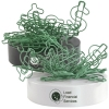 Dollar Paperclips On Paperweight Magnetic Base