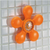 Flower Clock With Suction Cup
