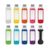 Glass Water Bottle -Silicon Sleeve