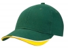 Heavy Brushed Cotton Cap with Short Velcro Fastener
