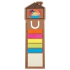 House Bookmark/Ruler With Noteflags