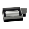 Icon Silver Desk Business Card Holder
