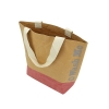 Large Washable Kraft Paper Bag with Cotton Handle(430x345x125mm)