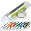 LED Aluminium Torch Keyring