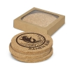 Natural Cork Coasters