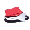 Neoprene Laptop Sleeve With Zipper, Carry Handle & Strap
