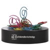 Paperclips On Paperweight Magnetic Base