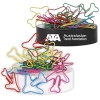 Plane Paperclips On Paperweight Magnetic Base