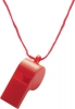 Plastic Whistle�with�Neck Cord