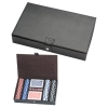 Poker Set in Leather Case