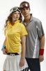 Polo Shirt With Contrast Panel Design