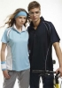 Polo Shirt With Contrast Stripe Design