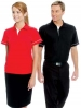 Polo Shirt With Trim Design On Shoulder And Cuff