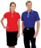 Polo Shirt With Trimmed Design