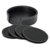 PU Leather Coaster Set