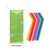 Reusable Silicone Straw With Brush Cleaner