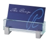 Set in Glass Business Card Holder