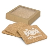 Set of 4 Square Cork Coaster