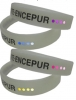 Silicon UV Indicator Wristband Bracelet