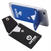 Silicone Phone Wallet Stand with Snap Back Closure