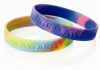 Silicone Wristband - Multi-Coloured - Debossed