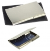Silver Nickel Pocket Business Card Holder
