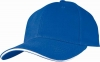 Six Panel Sandwich Baseball Cap in Blue
