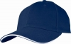 Six Panel Sandwich Baseball Cap with�Adjustable Snap Clip�
