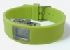 Soft Silicone Strap Watch in Lime Green