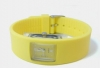 Soft Silicone Strap Watch in Yellow�