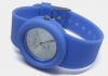 Soft Silicone Strap Watch�in Blue�