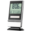 Solar desk clock and calendar