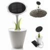 Solar Flower with 2500 mAh Rechargeable Battery