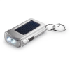 Solar powered torch keyring