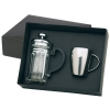 Stainless Steel Coffee Mug & Plunger Set